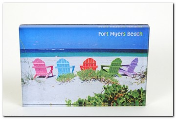 Post Card Fort Myers Beach Adirondacks