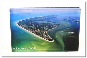 Post Card Sanibel Island Aerial