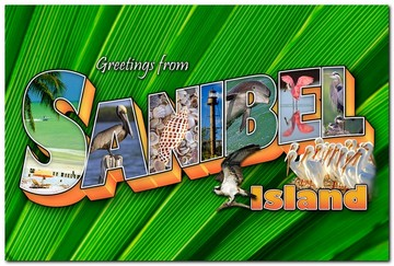 Greeting From Sanible - Icons