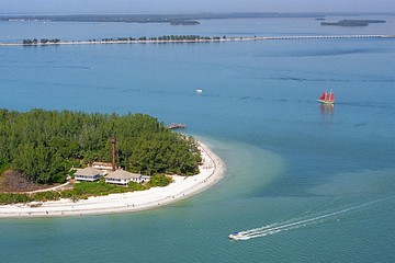 Sanibel Lighthouse Aerial