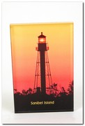 Sanibel Island Lighthouse Silhouette
