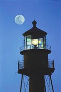 Lighthouse Moon II